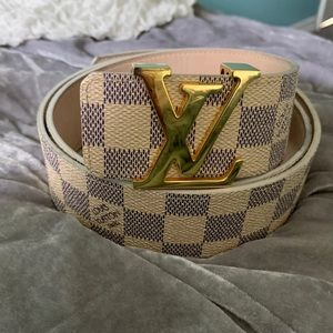 Louis Vuitton Initials Belt